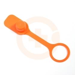 Zatyczka węża spustowego zmywarki pomarańczowa