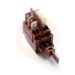 Wyłącznik zmywarki krótki 2x3 styki